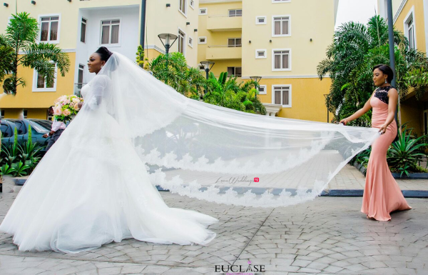 Nigerian Bride and Maid of Honor Toyosi and Wole WED Dream Wedding From Paris With Love 17 LoveWeddingsNG