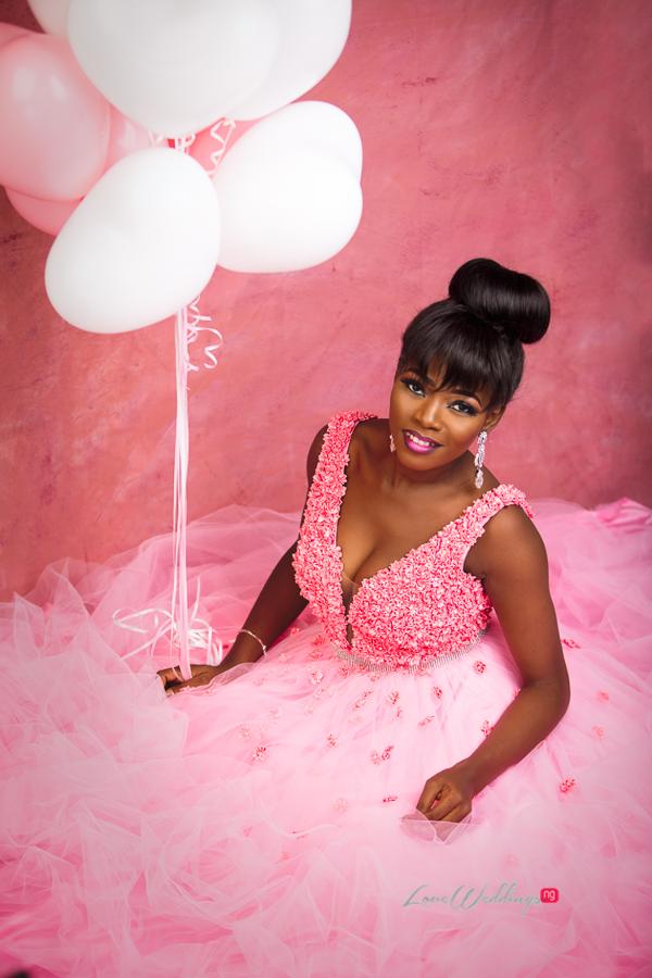 Nigerian Bride in Pink LoveWeddingsNG Eleanor Goodey Photography 2
