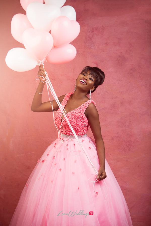 Nigerian Bride in Pink LoveWeddingsNG Eleanor Goodey Photography