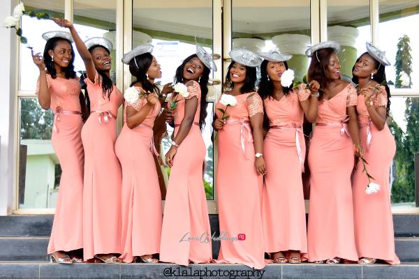 Nigerian Bridesmaids Dami and Bayo Klala Photography LoveweddingsNG 1