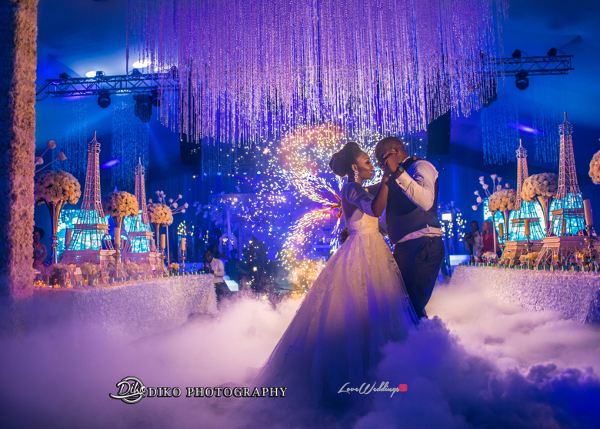 Nigerian Couple First Dance Toyosi Ilupeju and Wole Makinwa WED Dream Wedding Details Diko Photography LoveWeddingsNG 1