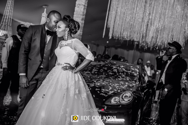 Nigerian Couple Grand Entrance Toyosi and Wole WED Dream Wedding From Paris With Love 17 LoveWeddingsNG 5
