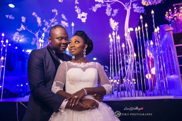 Nigerian Couple Toyosi Ilupeju and Wole Makinwa WED Dream Wedding Details Diko Photography LoveWeddingsNG 1