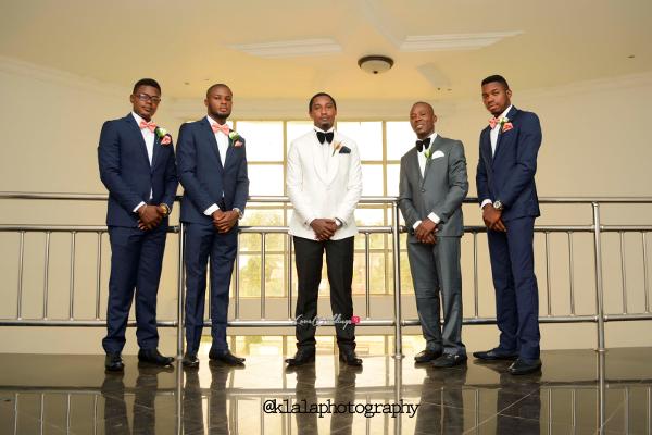 Nigerian Groom and Groomsmen Dami and Bayo Klala Photography LoveweddingsNG