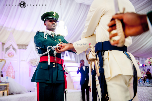 Nigerian Military Wedding Tosin and Hassan Herald Studeos LoveWeddingsNG 4