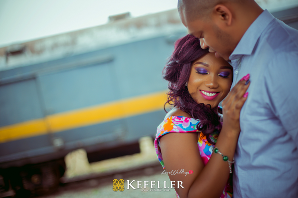 So in Love! See #UCJay2017's Pre-Wedding Shoot | Kefeller Works