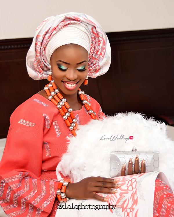 Nigerian Traditional Bride Dami and Bayo Klala Photography LoveweddingsNG