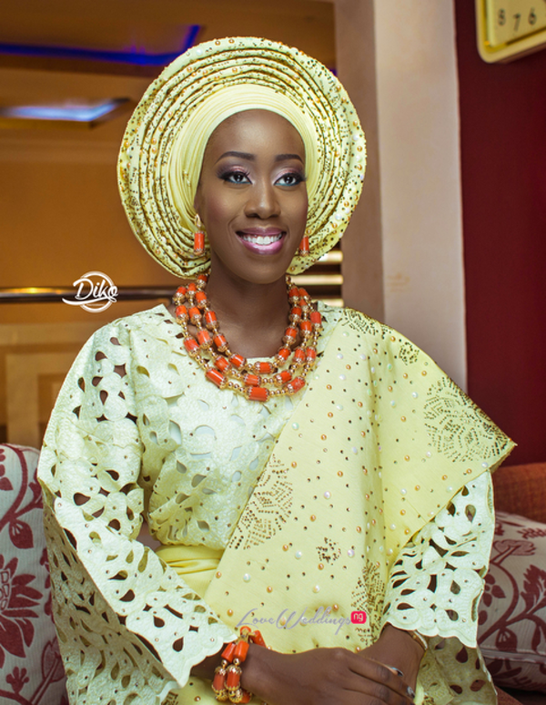 Nigerian Traditional Bride Tosin and Alhassan Diko Photography LoveWeddingsNG