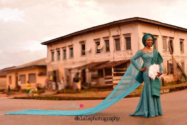 Nigerian Traditional Bride Train Dami and Bayo Klala Photography LoveweddingsNG