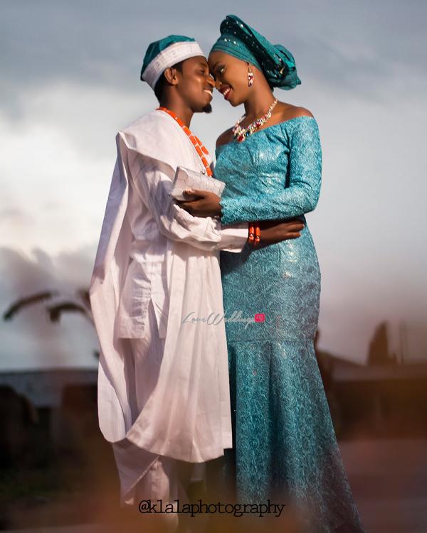 Nigerian Traditional Bride and Groom Dami and Bayo Klala Photography LoveweddingsNG 1