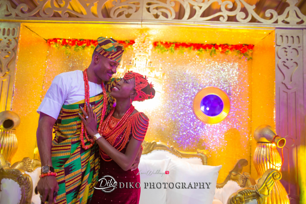 Nigerian Traditional Bride and Groom Tosin and Alhassan Diko Photography LoveWeddingsNG 4