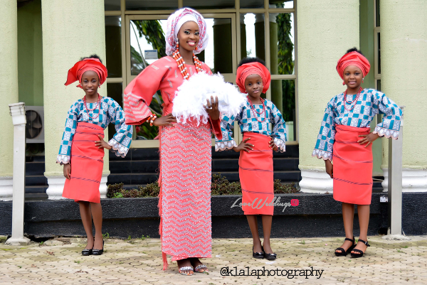 Nigerian Traditional Bride and Little Brides Dami and Bayo Klala Photography LoveweddingsNG