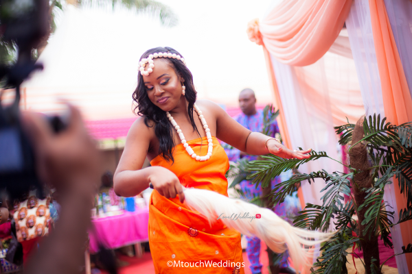 Nigerian Traditional Igbo Bride Adaora and Solomon MTouch Weddings LoveWeddingsNG1