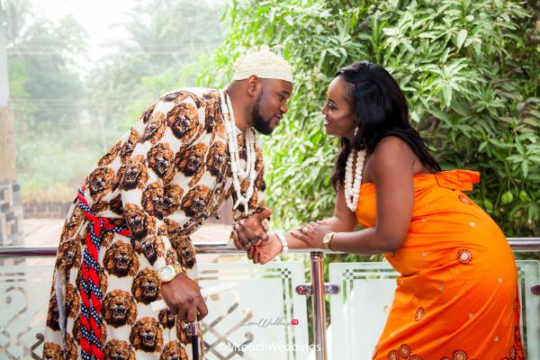 Nigerian Traditional Igbo Couple Adaora and Solomon MTouch Weddings LoveWeddingsNG 3
