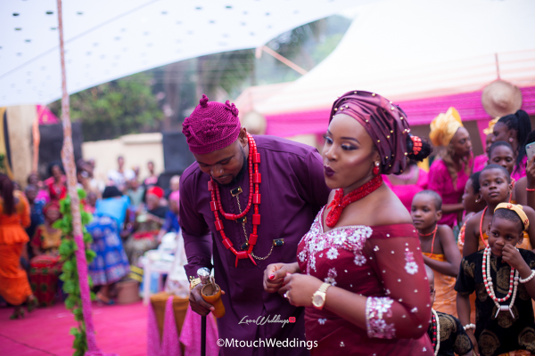 Nigerian Traditional Igbo Couple Adaora and Solomon MTouch Weddings LoveWeddingsNG