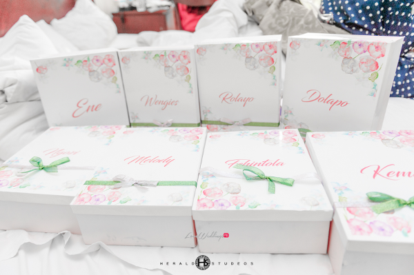 Nigerian Wedding Bridesmaids Gifts Tosin and Hassan Herald Studeos LoveWeddingsNG