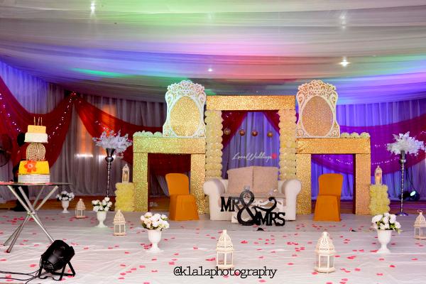 Nigerian Wedding Decor Dami and Bayo Klala Photography LoveweddingsNG