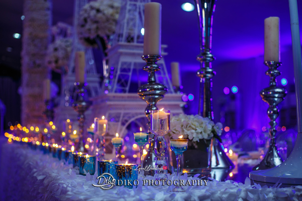 Nigerian Wedding Decor Toyosi Ilupeju and Wole Makinwa WED Dream Wedding Details Diko Photography LoveWeddingsNG 1