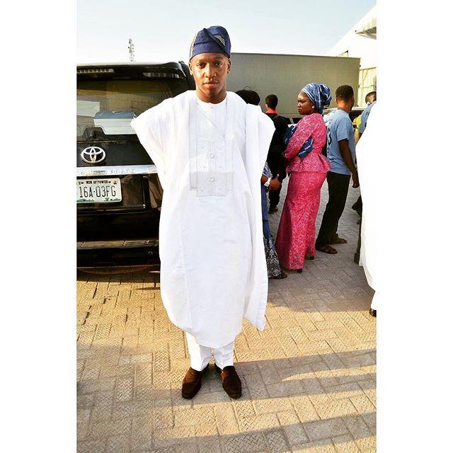 Nigerian Wedding Guest Aso Ebi Style Agbada LoveweddingsNG #JATA2016