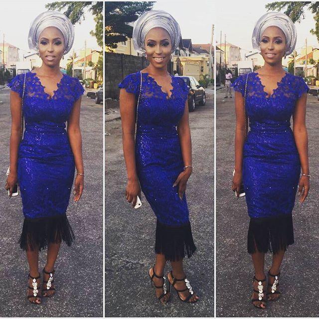 Nigerian Wedding Guest Aso Ebi Style LoveweddingsNG #JATA2016 1