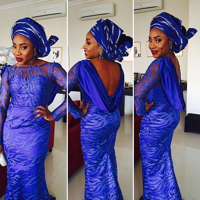 Nigerian Wedding Guest Aso Ebi Style LoveweddingsNG #JATA2016 8