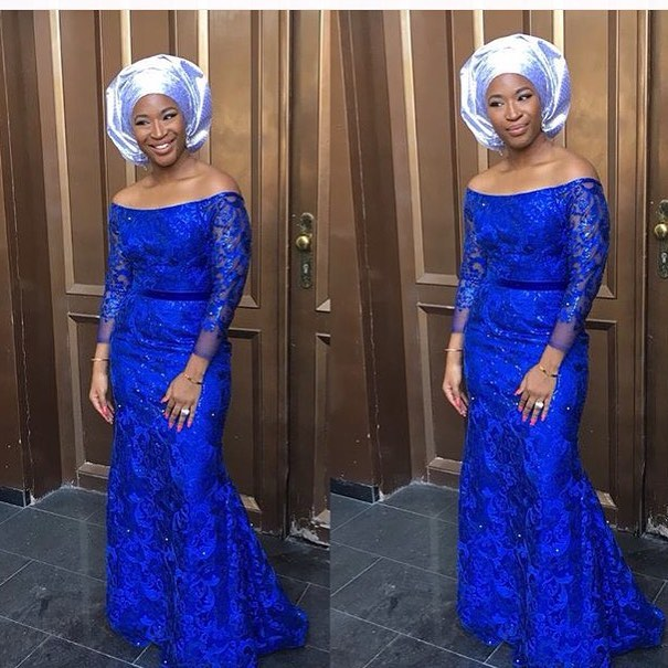 Nigerian Wedding Guest Simi Esiri Aso Ebi Style LoveweddingsNG #JATA2016