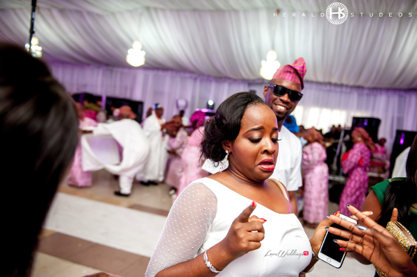 Nigerian Wedding Guest Turn Up Tosin and Hassan Herald Studeos LoveWeddingsNG