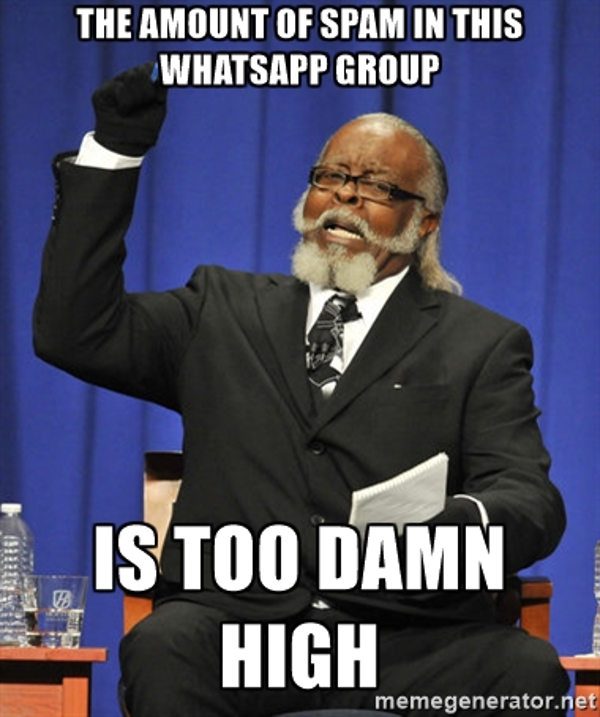 Nigerian WhatsApp Wedding Group Etiquette - SPAM LoveWeddingsNG