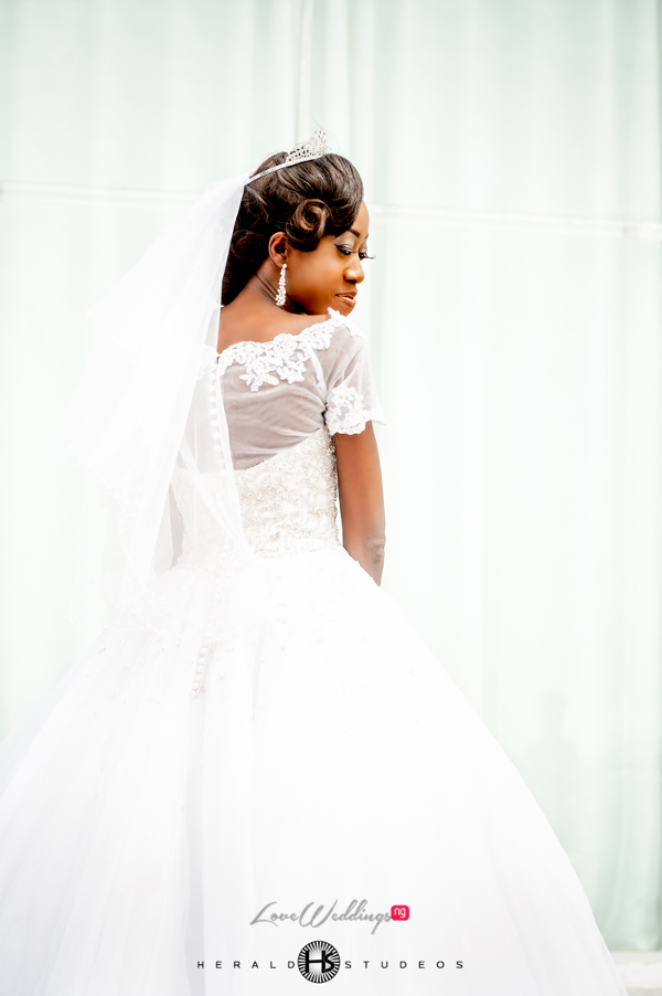 Nigerian bridal gown Tosin and Hassan Herald Studeos LoveWeddingsNG 1