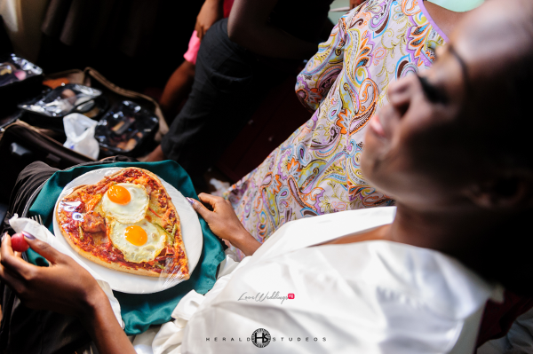 Nigerian bride breakfast Tosin and Hassan Herald Studeos LoveWeddingsNG