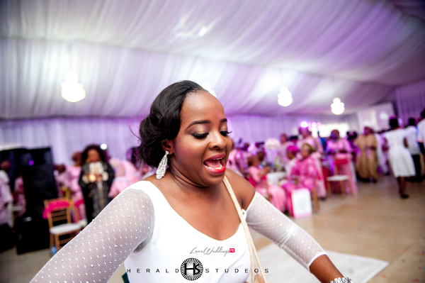Nigerian wedding guest turning up Tosin and Hassan Herald Studeos LoveWeddingsNG