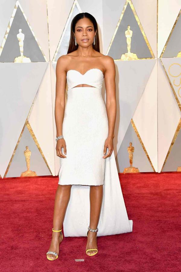 Oscars 2017 - Naomie Harris in Calvin Klein Collection LoveWeddingsNG