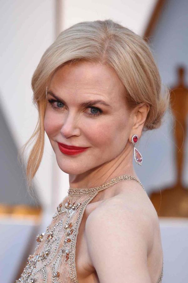 Oscars 2017 - Nicole Kidman Bridal Hair Inspiration LoveWeddingsNG