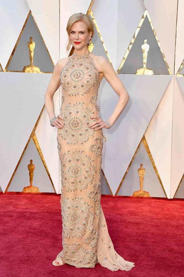 Oscars 2017 - Nicole Kidman in Armani Prive LoveWeddingsNG