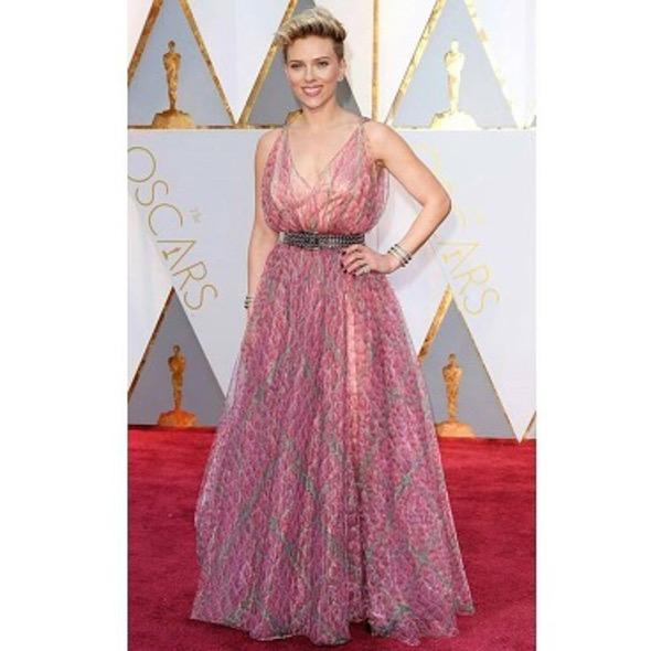Oscars 2017 - Scarlett Johannsen Wedding Style Inspiration LoveWeddingsNG