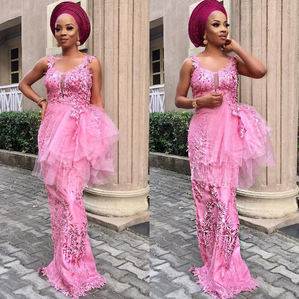 Toke Makinwa Nigerian Wedding Guest Style Inspiration LoveWeddingsNG 11