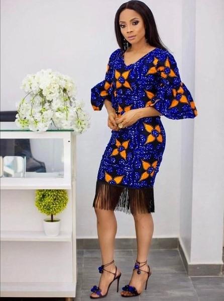 Toke Makinwa Nigerian Wedding Guest Style Inspiration LoveWeddingsNG 15