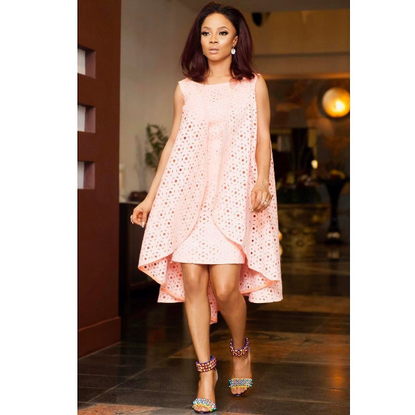 Toke Makinwa Nigerian Wedding Guest Style Inspiration LoveWeddingsNG 16