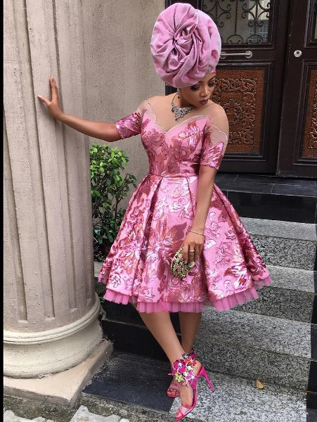 Toke Makinwa Nigerian Wedding Guest Style Inspiration LoveWeddingsNG 2