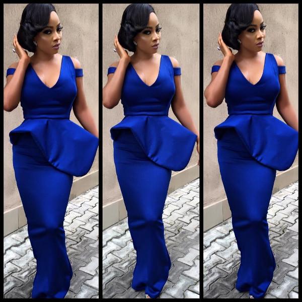 Toke Makinwa Nigerian Wedding Guest Style Inspiration LoveWeddingsNG 4
