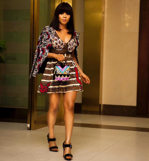 Toke Makinwa Nigerian Wedding Guest Style Inspiration LoveWeddingsNG 9