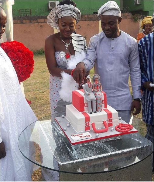 Yvonne Jegede Fawole Traditional Wedding Cake LoveWeddingsNG