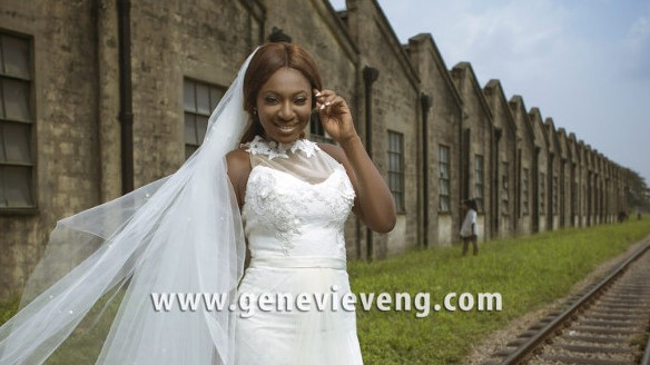Yvonne Jegede Genevieve bridal magazine December 2016 LoveWeddingsNG 1
