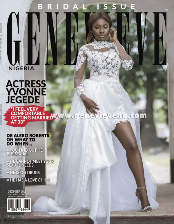 Yvonne Jegede Genevieve bridal magazine December 2016 LoveWeddingsNG