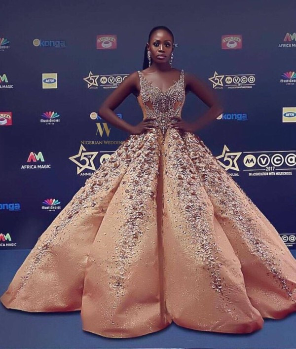 AMVCA 2017 - Nana Akua Addo Africa Magic Viewers Choice Awards 2017 LoveWeddingsNG