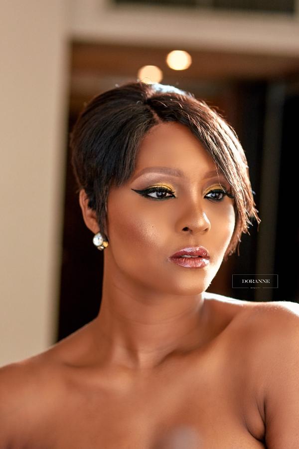 AMVCA 2017 - Osas Ighorado Ajibade Bridal Beauty Look Doranne Beauty Africa Magic Viewers Choice Awards 2017 LoveWeddingsNG