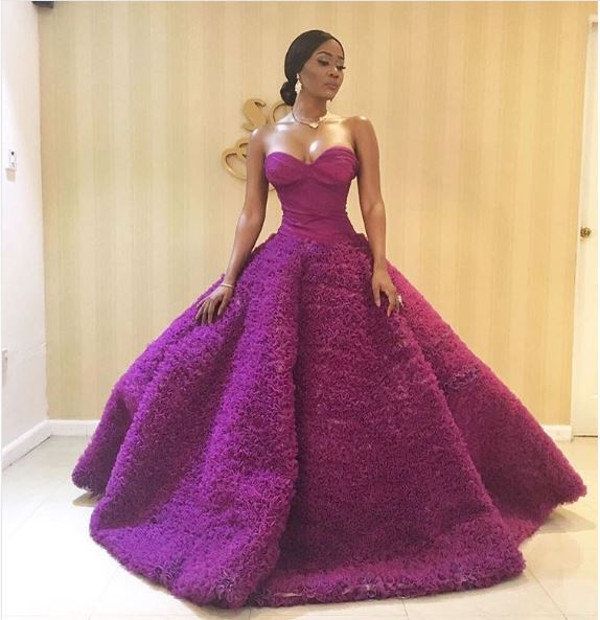 AMVCA 2017 - Toni Tones Africa Magic Viewers Choice Awards 2017 LoveWeddingsNG