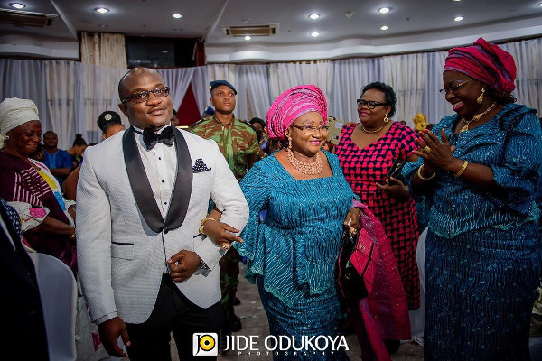 Cotonu Groom and mum LoveWeddingsNG.jp