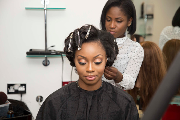 Highlights from UK Bridal Hair Stylist, Deborah Lola's 'Showcasing my skills' course