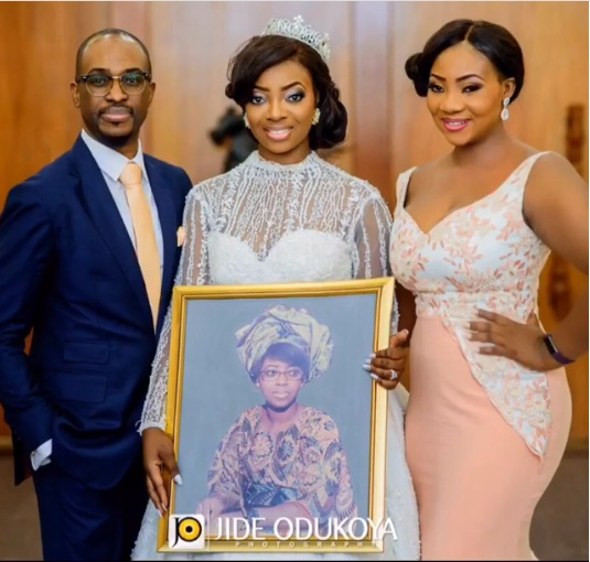 Kunbi Oyelese Honor a lost Relative at your wedding LoveWeddingsNG